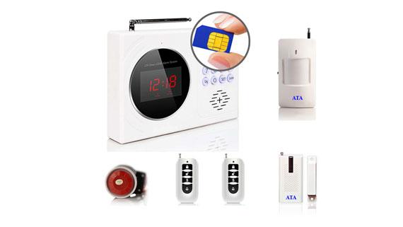 Báo trộm qua điện thoại dùng SIM AT-661 SIM
