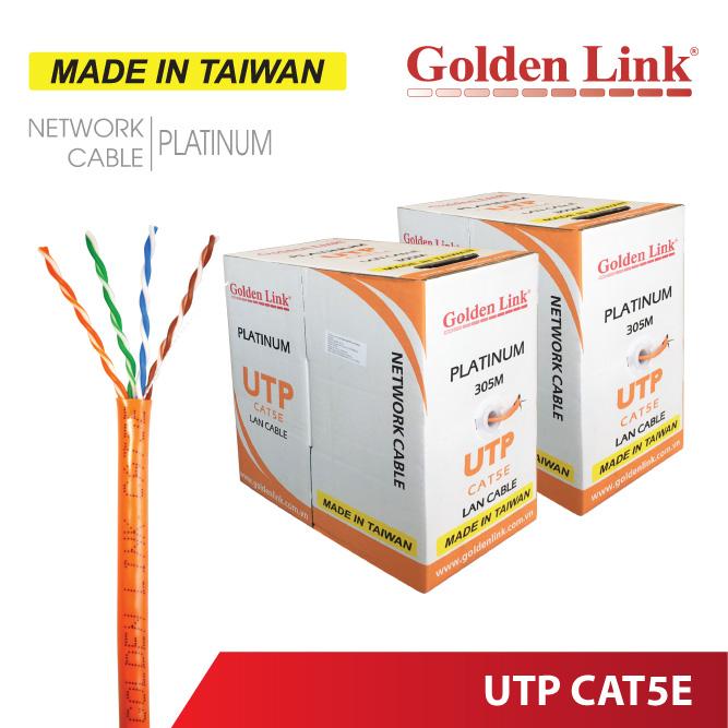 CÁP MẠNG GOLDEN LINK PLATINUM UTP CAT 5E