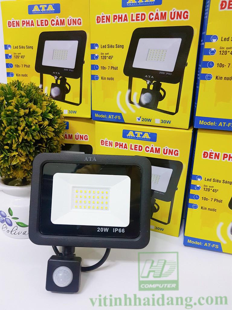 Đèn pha led cảm ứng ATA AT-FS 20W