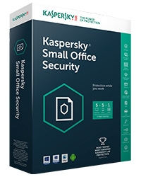 PM diệt virut Kaspersky Small Office Security (1 Server + 05 máy trạm)
